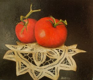 Fresh From The Vine by Bobbie Berg Acrylic ~  x