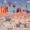Hot Air Balloons in the Southwest