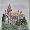 """Jill Vondervor-Frank """"Gingerbread Castle"""""""