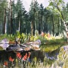 "Margie Samuels ""Pond At Landgrove"""