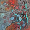 "Jean Davidson ""Abstract-2"""