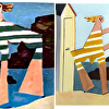 "Marian Jones's interpretation of Picasso's ""On The Beach"""