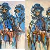 "Carol Manochio's interpretation of Sargent's ""Bedouins"""