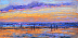 Purple Sunset by  Ordelheide