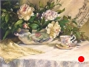 "Tea Time by marie walker Pastel ~ 28"" x 34"""