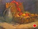 "The Gift Basket by marie walker Pastel ~ 29"" x 34"""