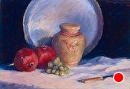 "Pomegranates by marie walker Pastel ~ 22"" x 28"""