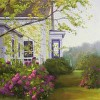 House with Hydrangeas