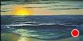 "Outer Banks Sunrise by Pat Quinn Oil ~ 24"" x 48"""