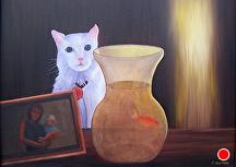 """Claude by Pat Quinn Oil ~ 18"""" x 24"""""""