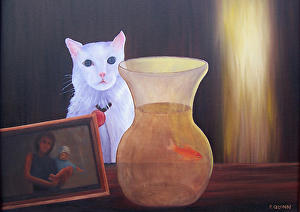 Claude-Commissioned Pet Portrait