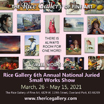 Jim Serrett - The Rice Gallery 6th Annual National Juried Small Works Show.