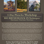 Richard Lindenberg - BIG BRUSH BLOCK-IN PleinAir Techniques * Cancelled * Covid19