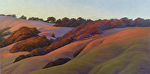 "Last Light Chileno Valley by Christin Coy Oil ~ 24"" x 48"""