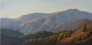 Afternoon Light - Loma Alta by Christin Coy Oil ~ 12