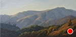 "Afternoon Light - Loma Alta by Christin Coy Oil ~ 12"" x 24"""
