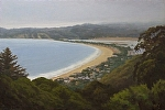"Stinson Beach - Autumn Afternoon by Christin Coy Oil ~ 20"" x 30"""