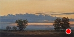 "Morning Light by Christin Coy Oil ~ 10"" x 20"""