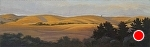 "Evening Glow - Pt.Reyes by Christin Coy Oil ~ 5"" x 16"""