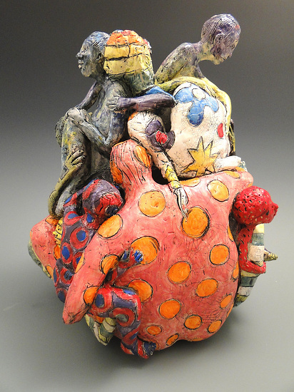 "Each unique but intertwined by Linda Lewis Clay ~ 17"" x 12"""