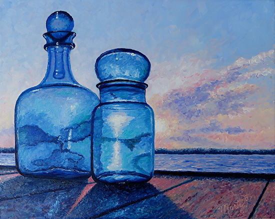 Sunrise Blues - Oil
