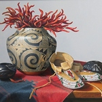 sue krzyston - STAMPEDE WESTERN INVITATIONAL ART EXHIBIT AND SALE