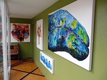 studio walls by V Rae  ~  x