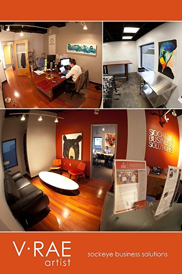 Commercial Office Art by V Rae  ~  x