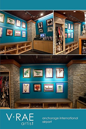 Anchorage Intl Airport Gift Shop by V Rae  ~  x