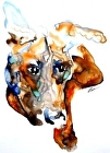 lookin' fur luv by V Rae Giclee ~ 28 x 22