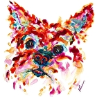 Fiesta by V Rae Watercolor ~  x