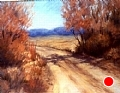 Taos Road by Virginia Carruth Pastel ~  x