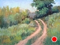 Back Road by Virginia Carruth Pastel ~  x