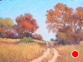 Hill Country Fall by Virginia Carruth Pastel ~  x