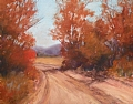"Back Road by Virginia Carruth Pastel ~ 12"" x 16"""