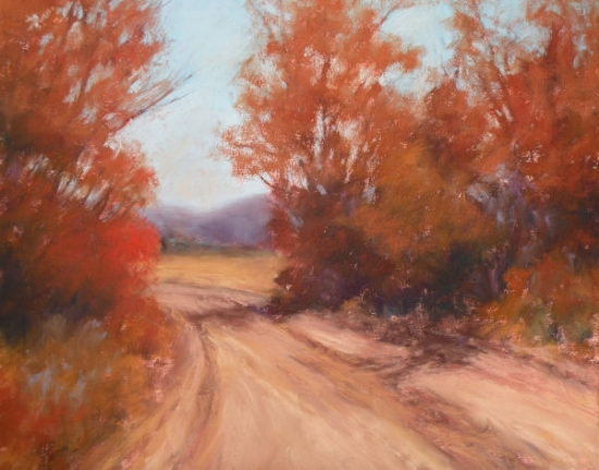 Back Road - Pastel