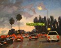 Lighting The Way Home by Marian Fortunati Oil ~ 11 x 14