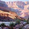 Lava Canyon: Early Morning Shadows Along The Colorado