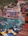 Gioiello Di Cinque Terre by Marian Fortunati Oil ~ 20 x 16