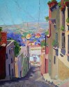 "Purple Haze by Marian Fortunati Oil ~ 14"" x 11"""