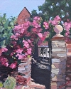 """Welcome Home by Marian Fortunati Oil ~ 10"""" x 8"""""""