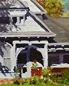 """Queen Anne Shadows by Marian Fortunati Oil ~ 10"""" x 8"""""""