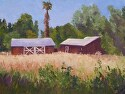 "Valley Heartland by Marian Fortunati Oil ~ 12"" x 16"""