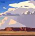 Mesa Near Hopi Land by Logan Hagege Oil ~ 10 x 10