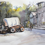 Shuang Li - CANCELLED  3-Day Watercolor Sketching Workshop [San Diego]