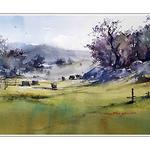 Shuang Li - Watercolor Demo (Ramona, San Diego County)