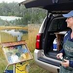 Carole Boggemann Peirson - Paint the Shore - Virginia Eastern Shore LandTrust