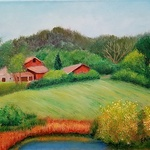 Fred Amos - Howland Community OPEN Exhibition @ The Arts Center