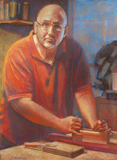 Portrait of My Marty - Pastel
