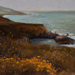 karen israel - Copley Society of Art Small Works: Seaport
